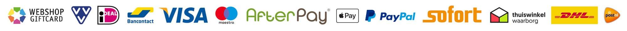 Verzend- en betaalmethodes