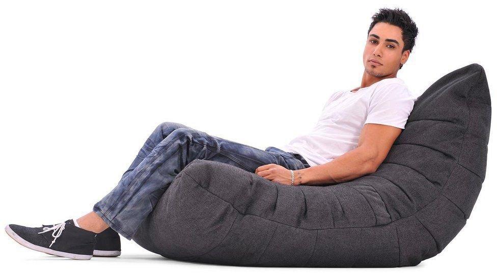 ambient lounge acoustic sofa black sapphire