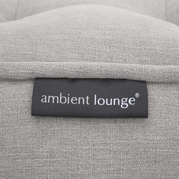 ambient lounge acoustic sofa keystone grey