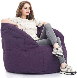 Ambient Lounge Butterfly Sofa - Aubergine Dream