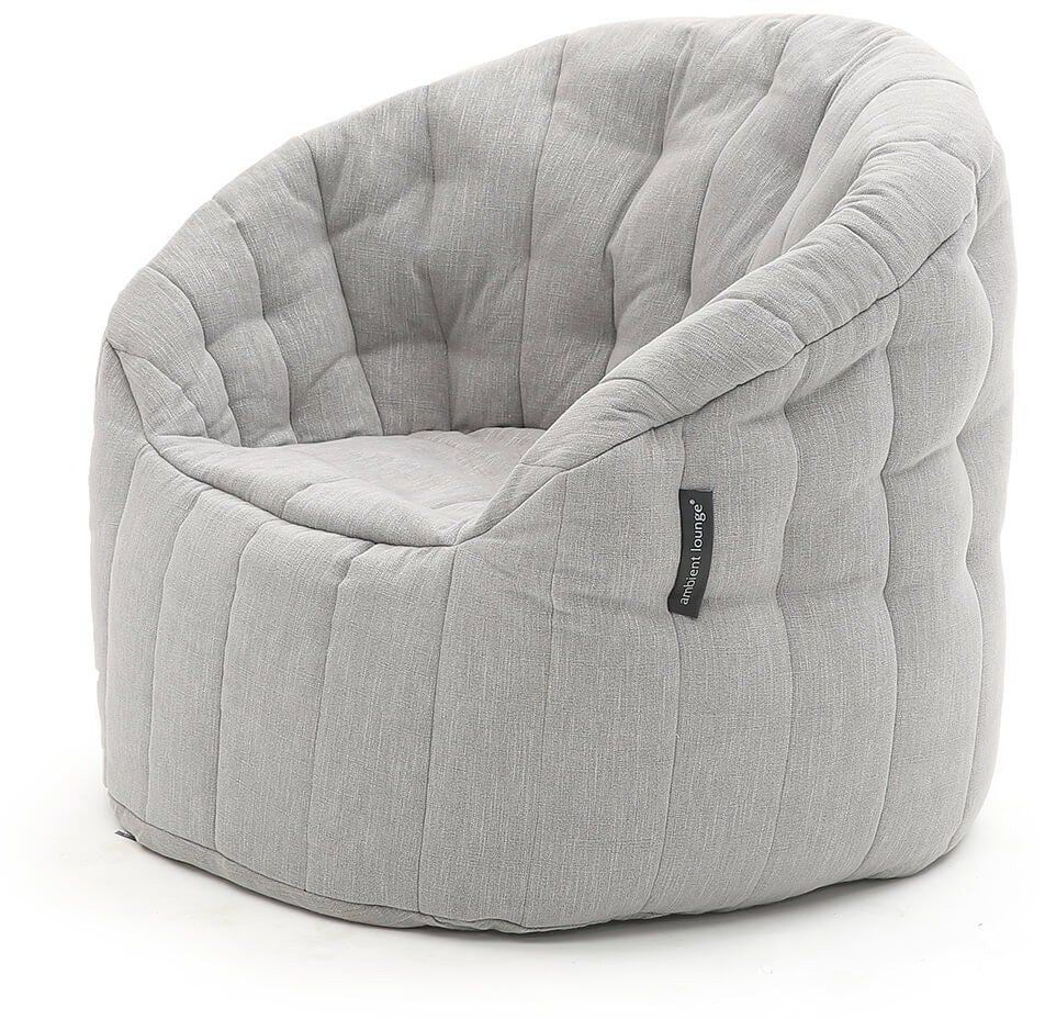 ambient lounge butterfly sofa keystone grey