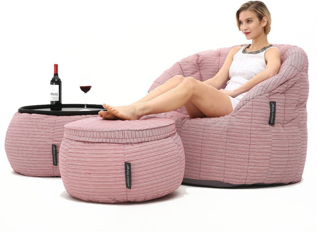 ambient lounge designer set contempo package raspberry polo