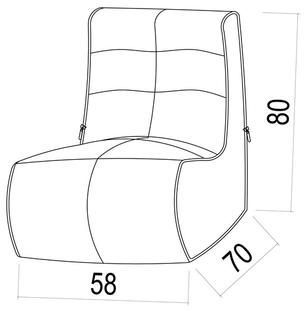 ambient lounge modular link single keystone grey