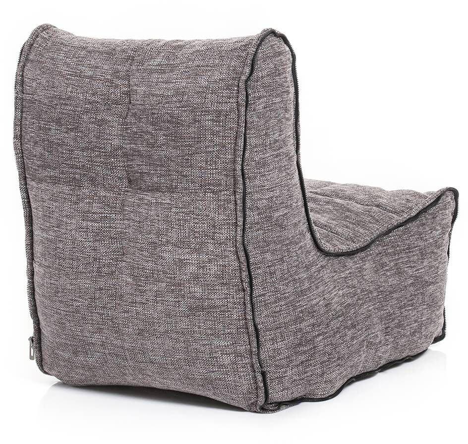 ambient lounge modular link single luscious grey