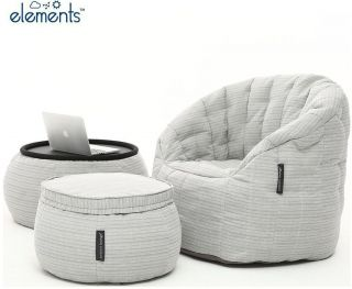 Ambient Lounge Outdoor Designer Set Contempo Package - Silverline