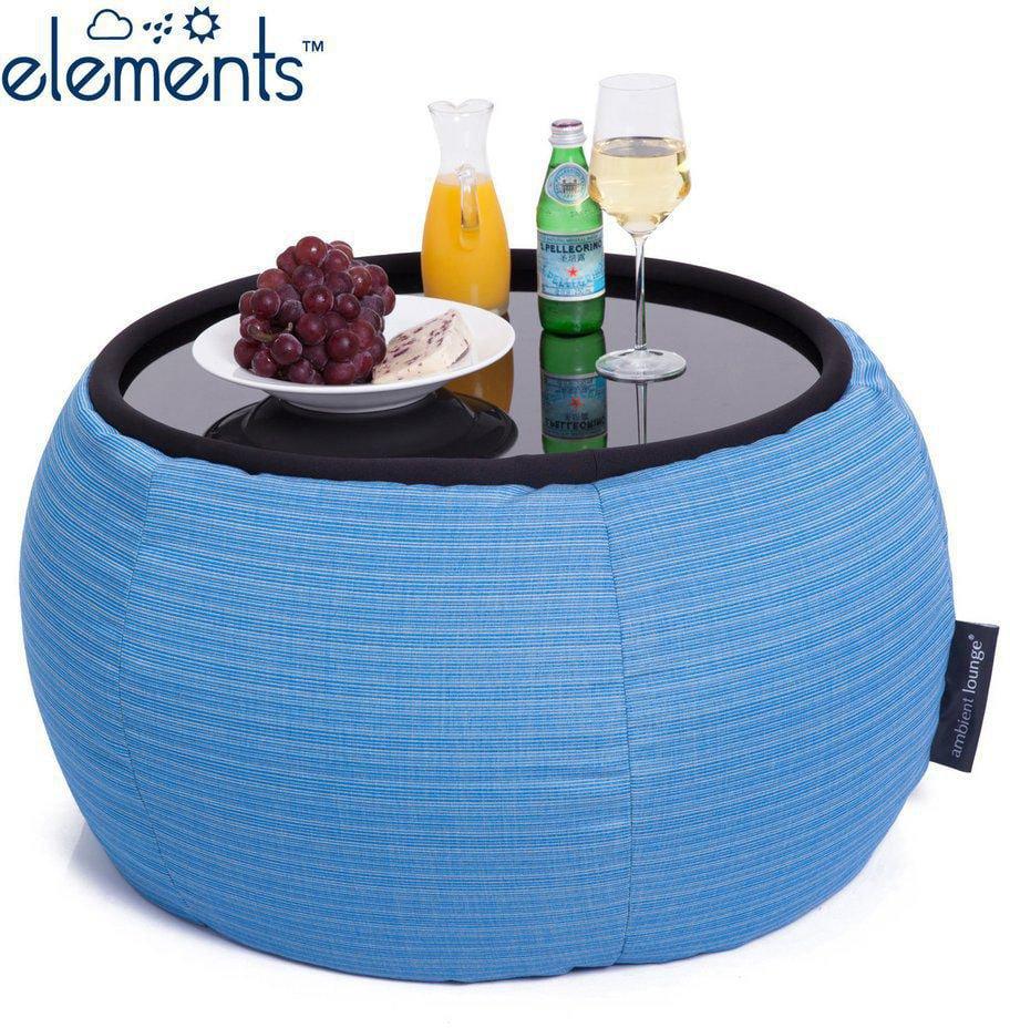 ambient lounge outdoor poef versa table oceana