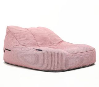 Ambient Lounge Outdoor Satellite Twin Sofa - Raspberry Polo