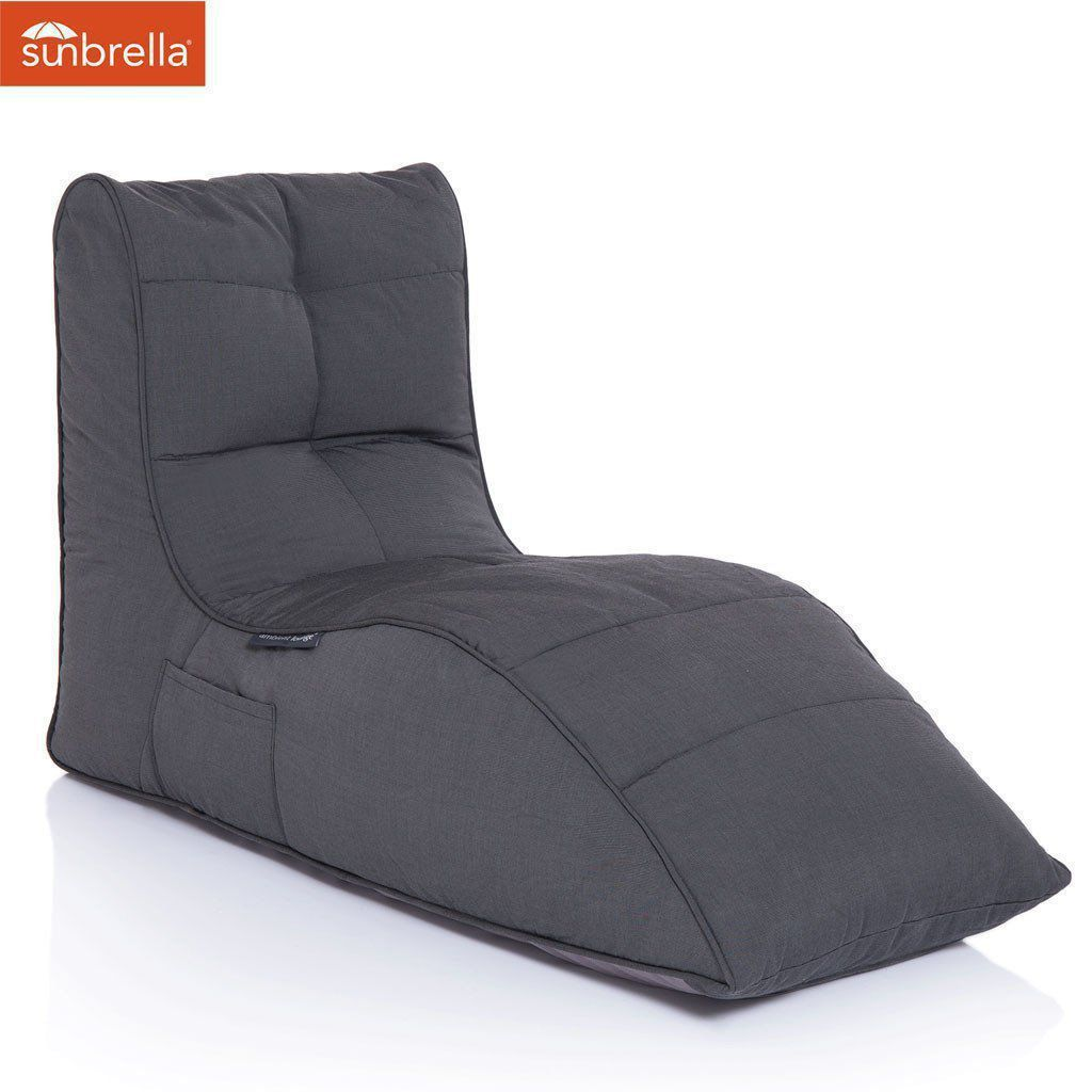 ambient lounge outdoor sunbrella avatar sofa black rock
