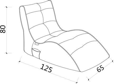 ambient lounge outdoor sunbrella avatar sofa crimson vibe