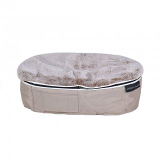 Ambient Lounge Pet Bed Indoor/Outdoor Cappuccino - Small