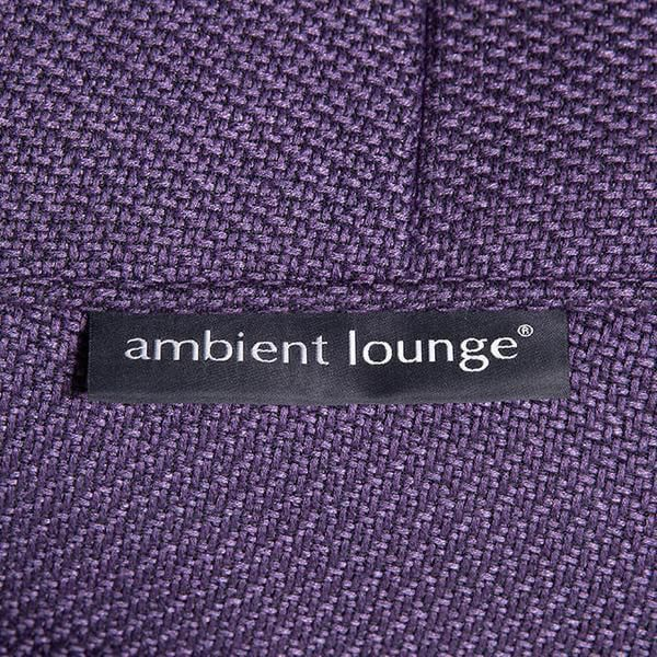 ambient lounge poef ottoman aubergine dream