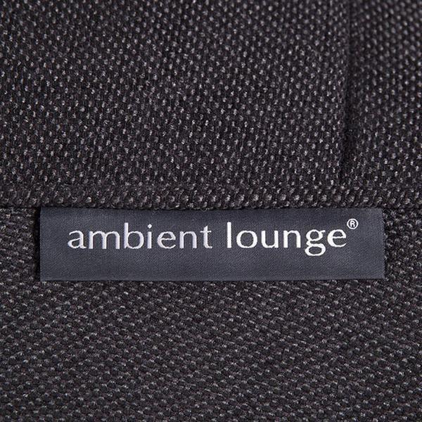ambient lounge poef ottoman black sapphire