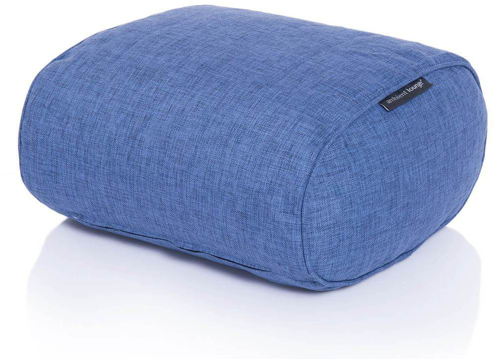 ambient lounge poef ottoman blue jazz