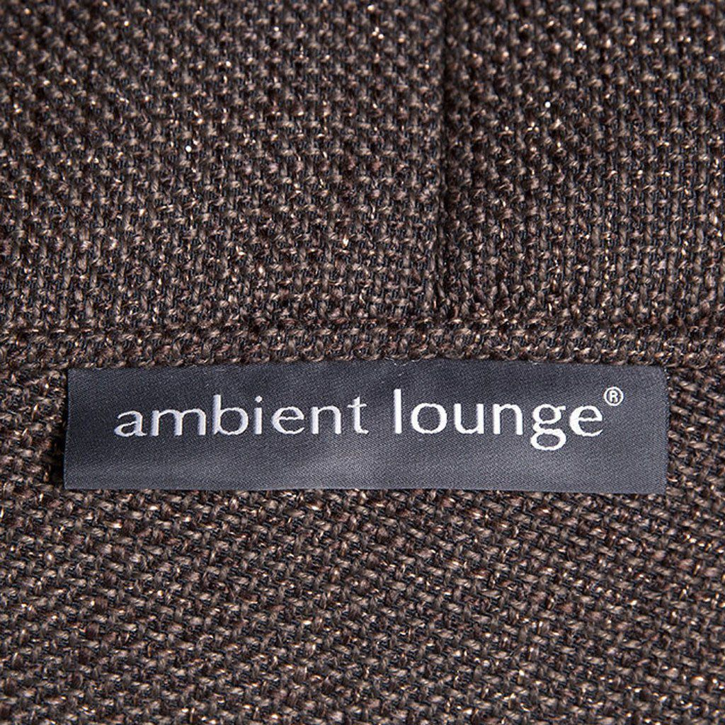 ambient lounge poef ottoman hot chocolate