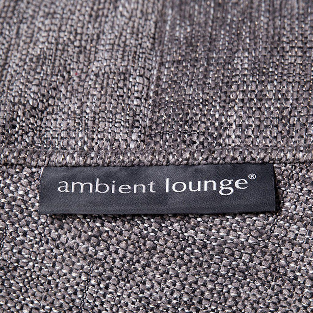 ambient lounge poef ottoman luscious grey