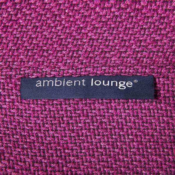 ambient lounge poef ottoman sakura pink