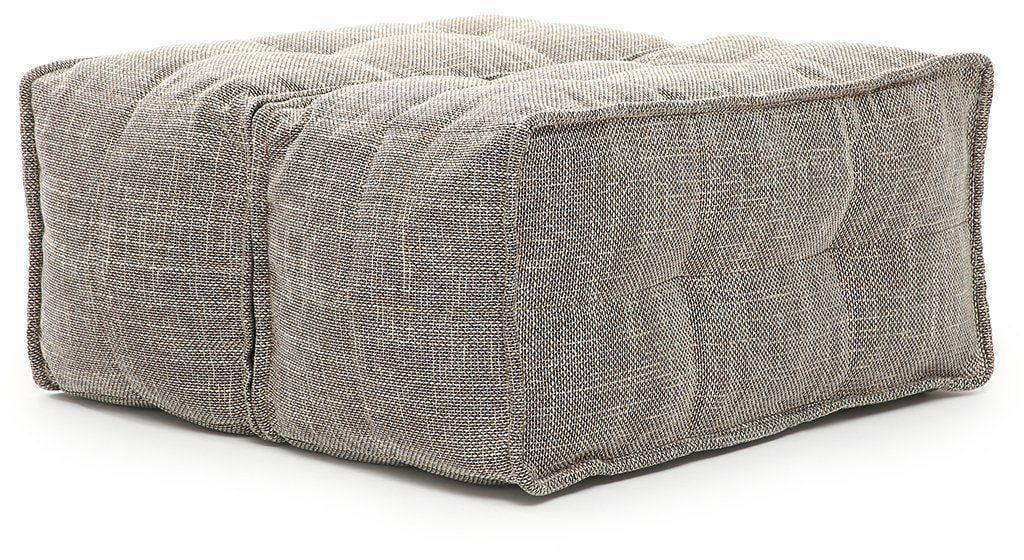 ambient lounge poef twin ottoman eco weave
