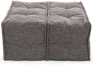 Ambient Lounge Poef Twin Ottoman - Luscious Grey