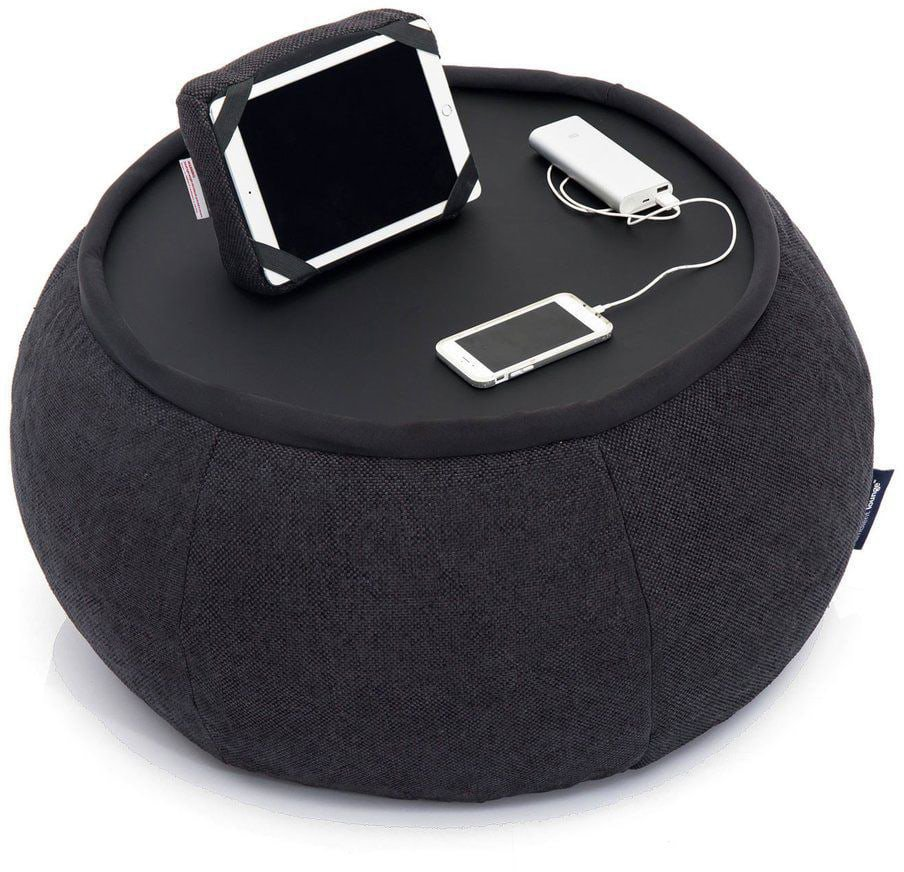 ambient lounge poef versa table black sapphire