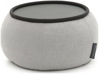 Ambient Lounge Poef Versa Table - Keystone Grey