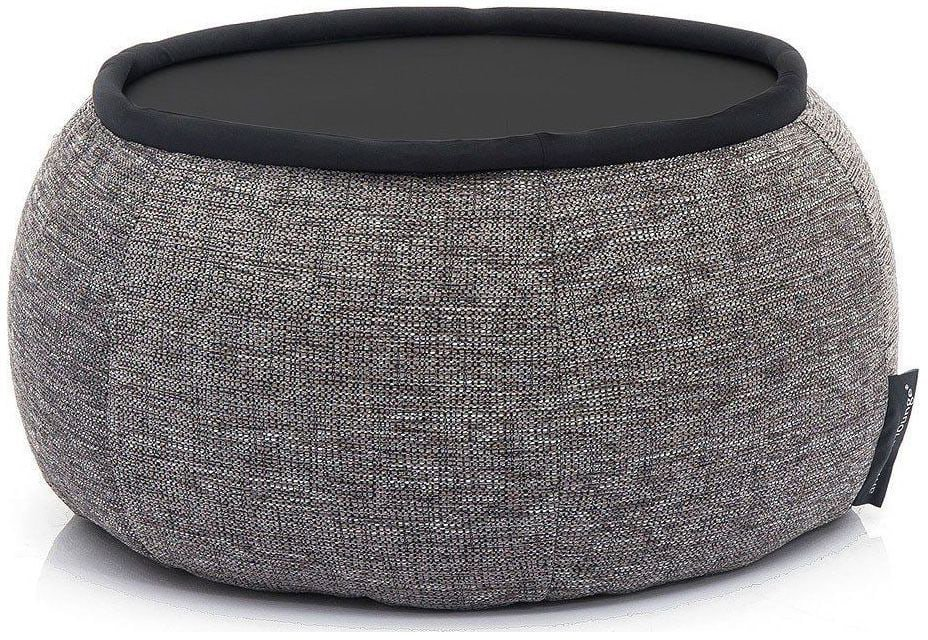 ambient lounge poef versa table luscious grey
