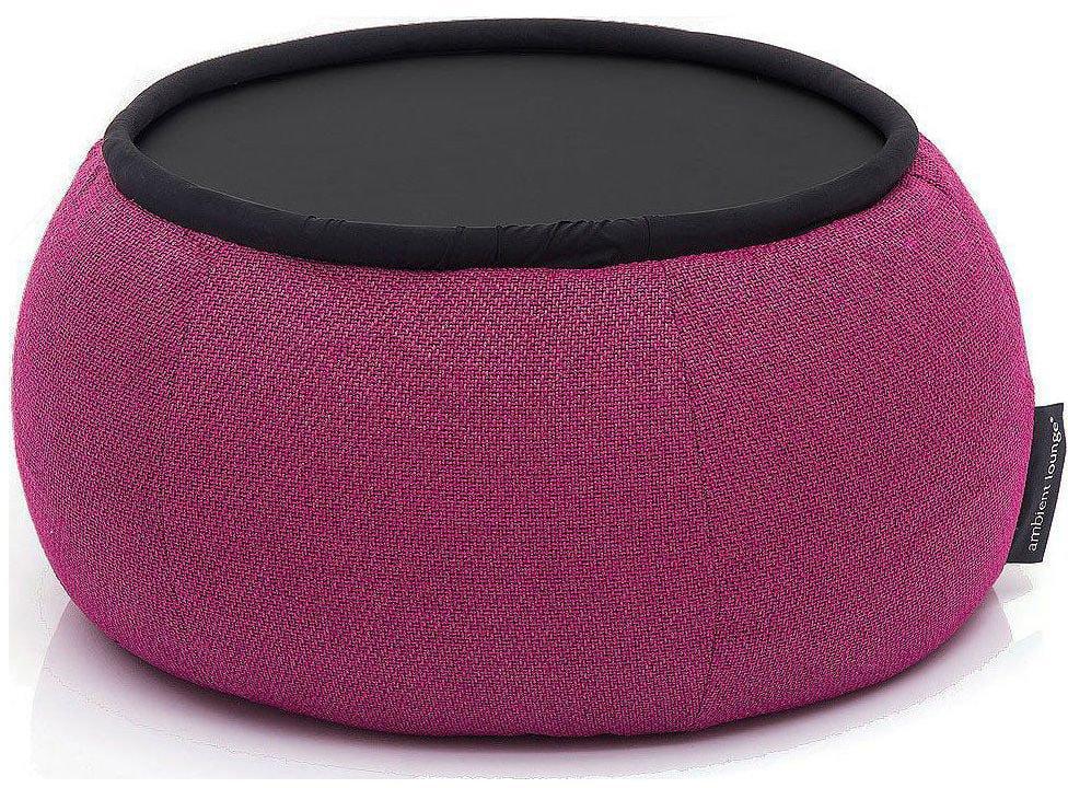 ambient lounge poef versa table sakura pink