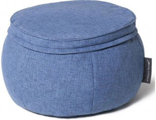 Ambient Lounge Poef Wing Ottoman - Blue Jazz
