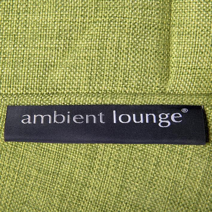 ambient lounge poef wing ottoman lime citrus