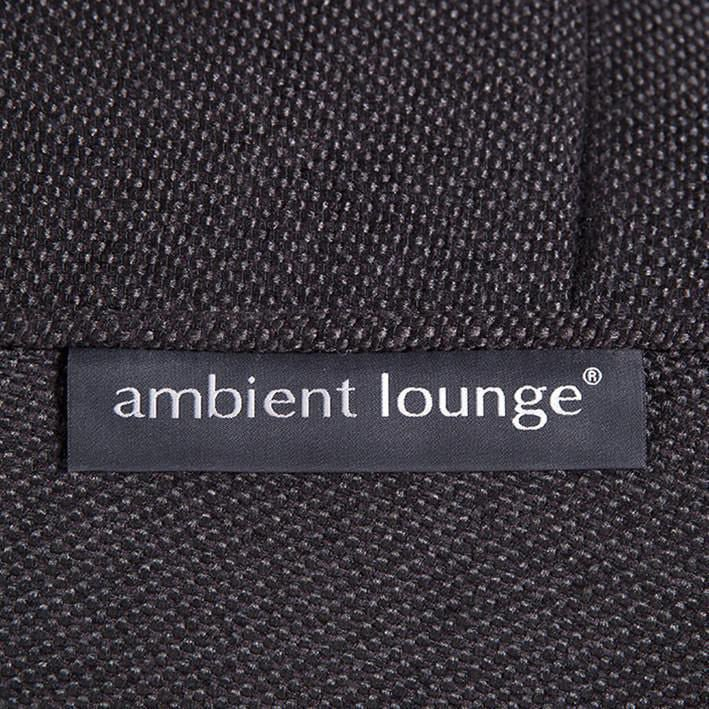 ambient lounge twin couch black sapphire