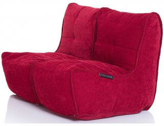 Ambient Lounge Twin Couch - Wildberry Deluxe