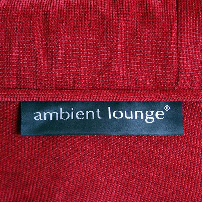 ambient lounge twin couch wildberry deluxe