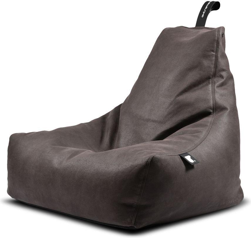extreme lounging bbag mightyb indoor zitzak slate