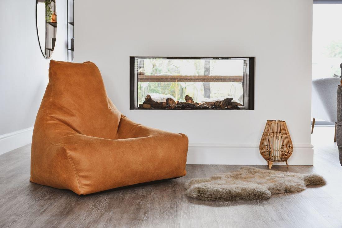 extreme lounging bbag mightyb indoor zitzak tan