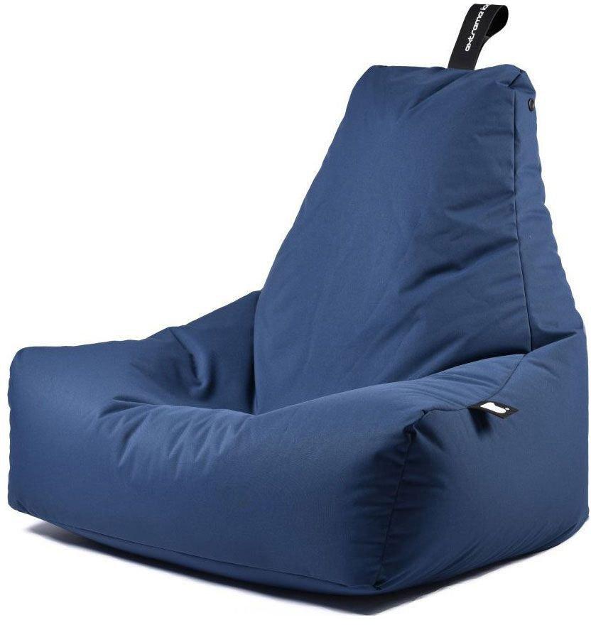 extreme lounging bbag mightyb zitzak blauw