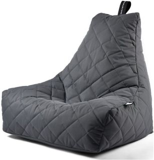 Extreme Lounging B-Bag Mighty-B Zitzak Quilted - Grijs
