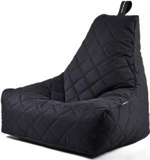 Extreme Lounging B-Bag Mighty-B Zitzak Quilted - Zwart