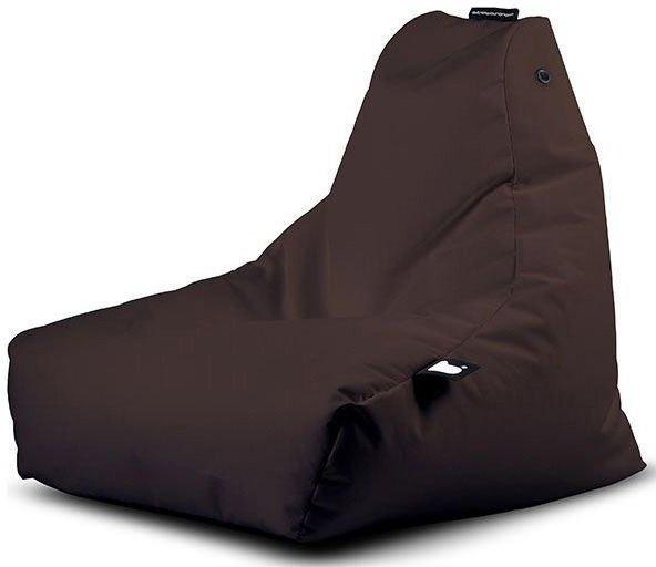 extreme lounging bbag minib kinder zitzak bruin
