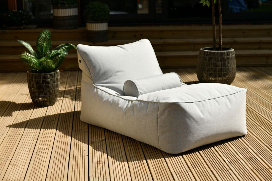 extreme lounging bbed lounger ligbed pastel blauw