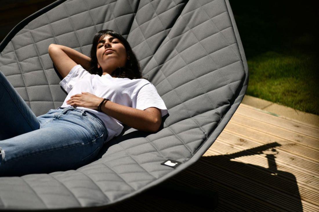 extreme lounging bhammock set hangmat grijs