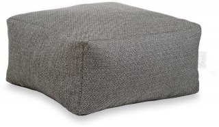 Laui Lounge Poef Basic Square Outdoor - Antraciet