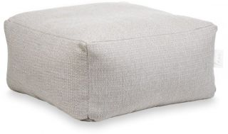 Laui Lounge Poef Basic Square Outdoor - Ash Grey
