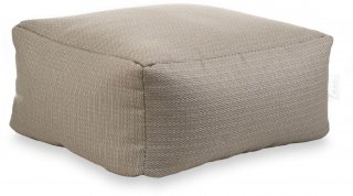 Laui Lounge Poef Boho Square Outdoor - Taupe
