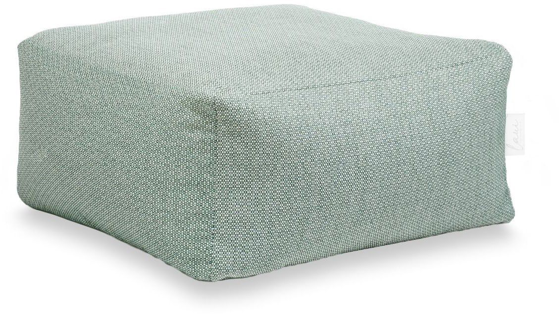 laui lounge poef color square outdoor spring green