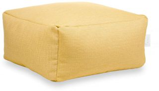 Laui Lounge Poef Color Square Outdoor - Yellow