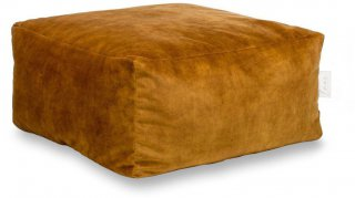 Laui Lounge Poef Velvet Square Indoor - Gold