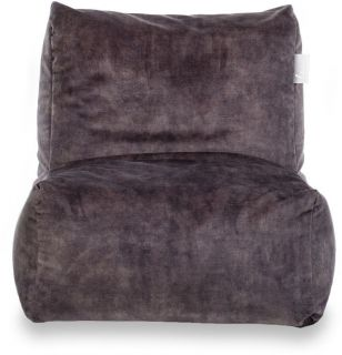 Laui Lounge Velvet Adult Indoor - Dark Grey