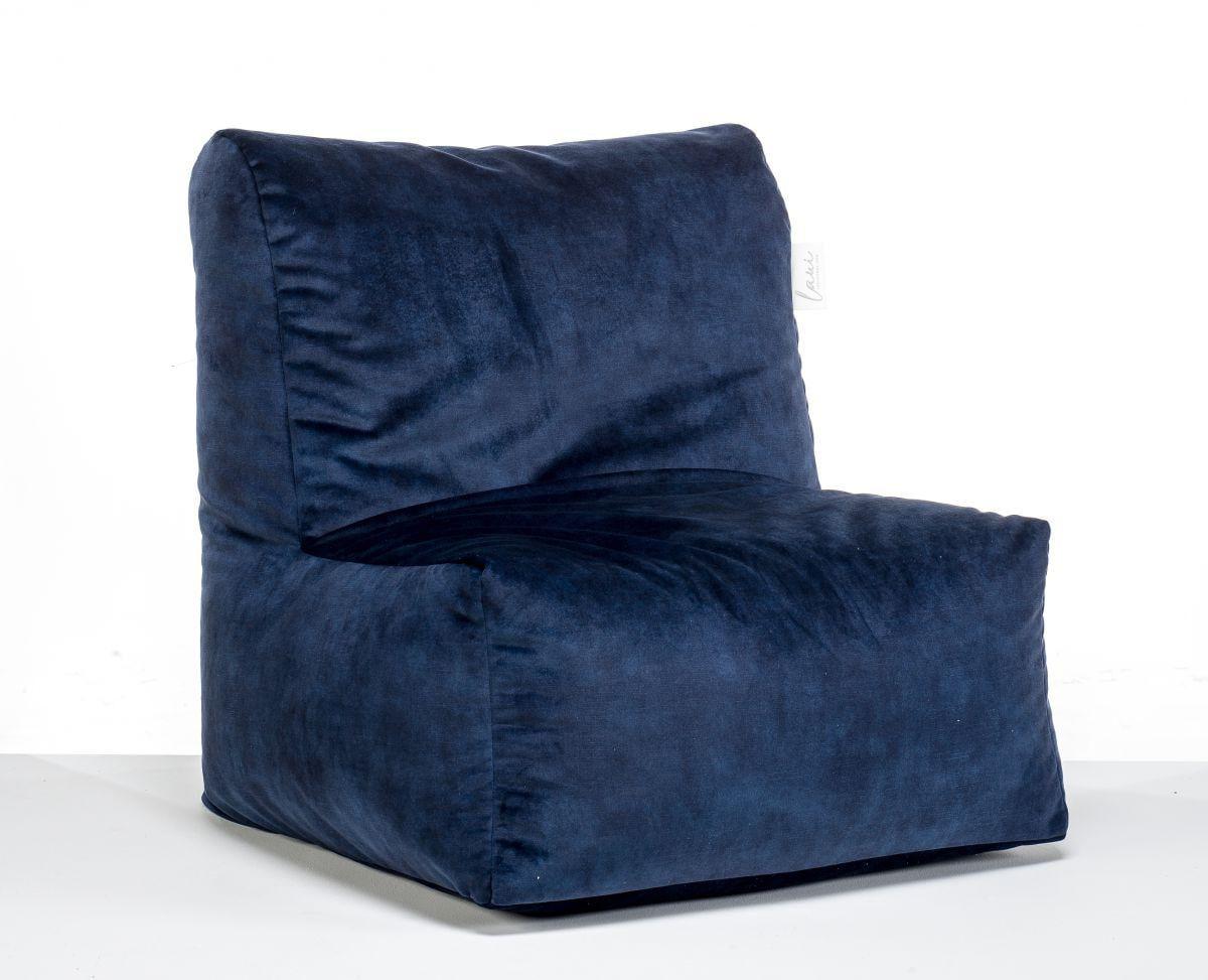 laui lounge velvet adult indoor indigo