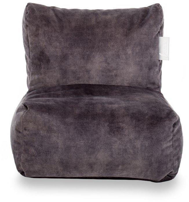 laui lounge velvet kids indoor dark grey