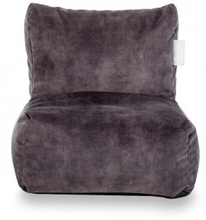 Laui Lounge Velvet Kids Indoor - Dark Grey