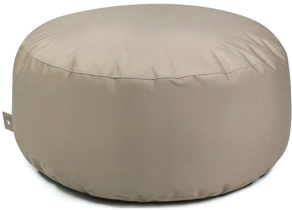 Outbag poef Cake Plus - taupe